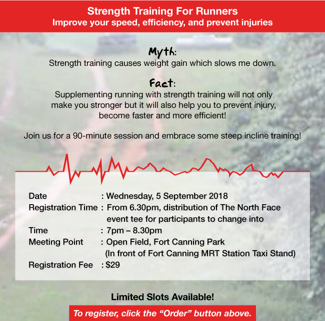 THE NORTH FACE OUTDOOR TRAINING - Strength Training For